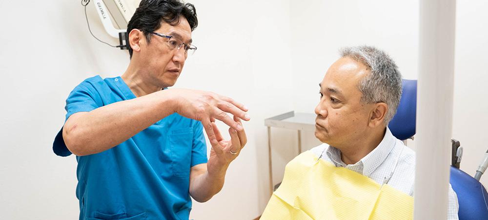 マイクロスコープ精密治療